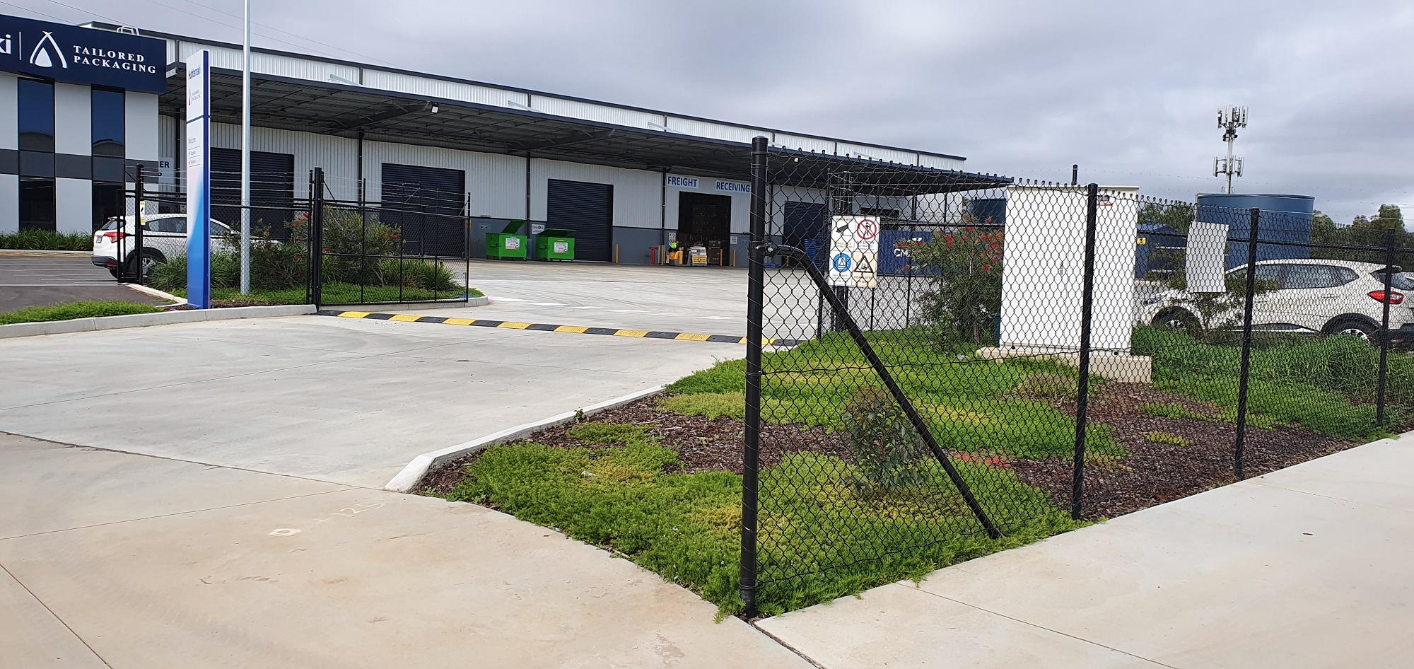 Commercial Fencing Adelaide Fence Centre Chain Mesh Security Fence Pooraka 1