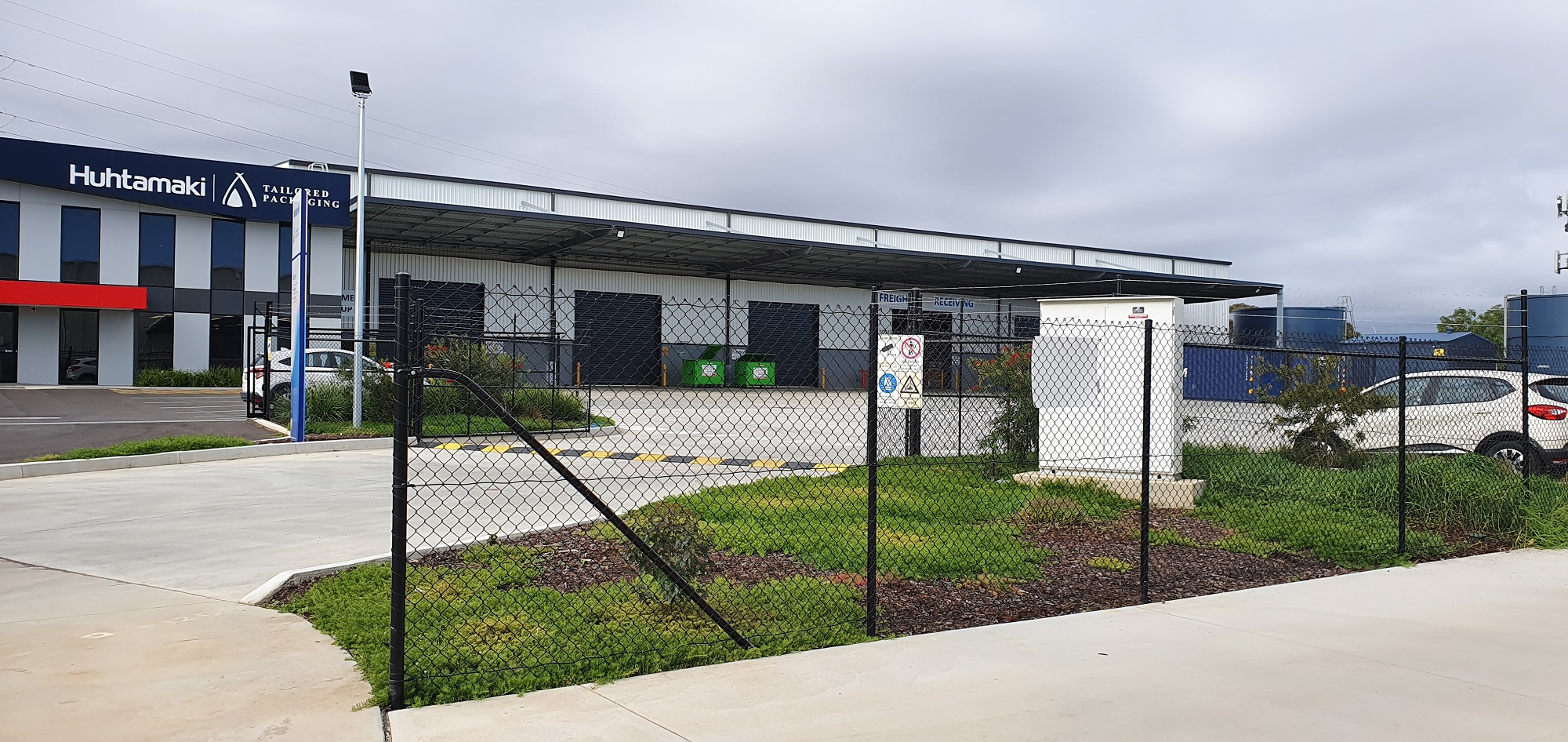 Commercial Fencing Adelaide Fence Centre Chain Mesh Security Fence Pooraka