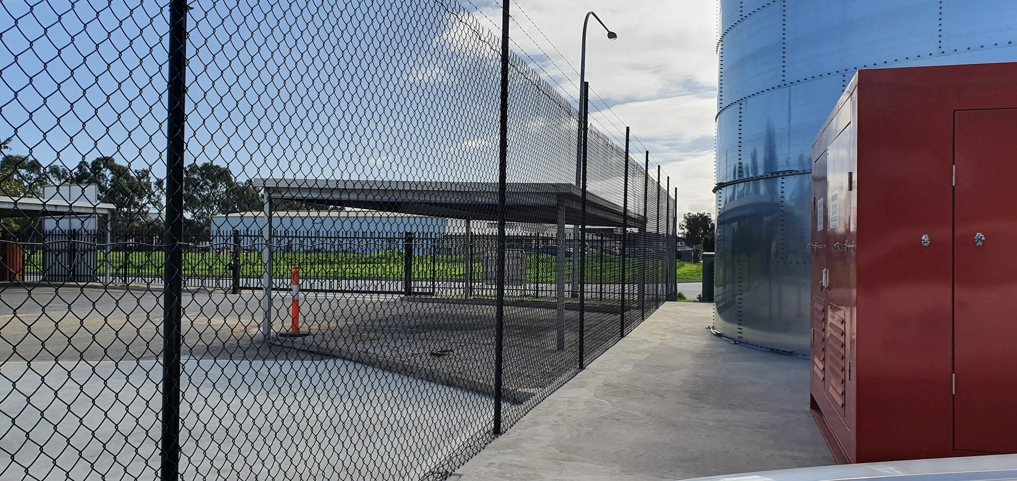Commercial Fencing Adelaide Fence Centre Chain Mesh Security Fence Wingfield 10