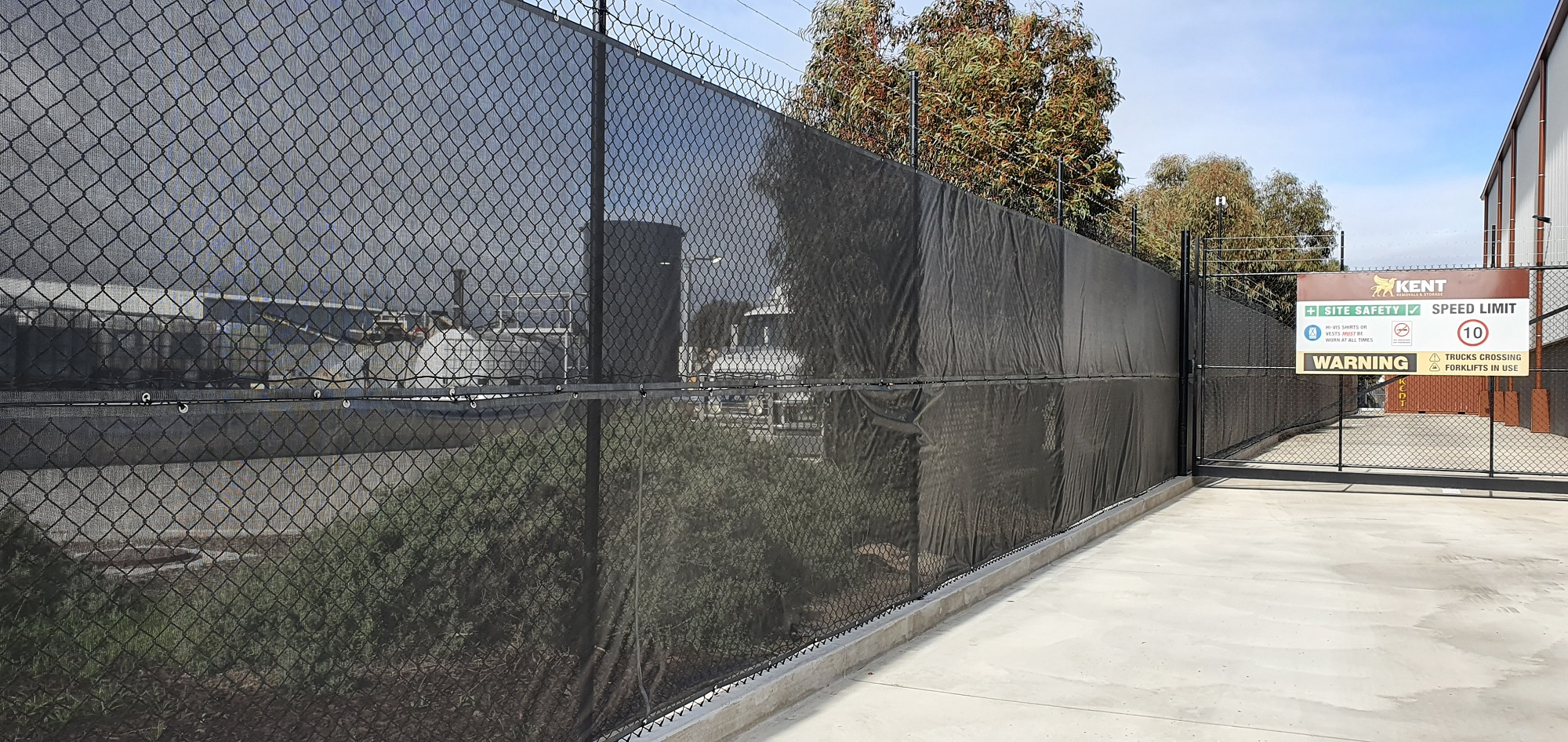 Commercial Fencing Adelaide Fence Centre Chain Mesh Security Fence Wingfield 2