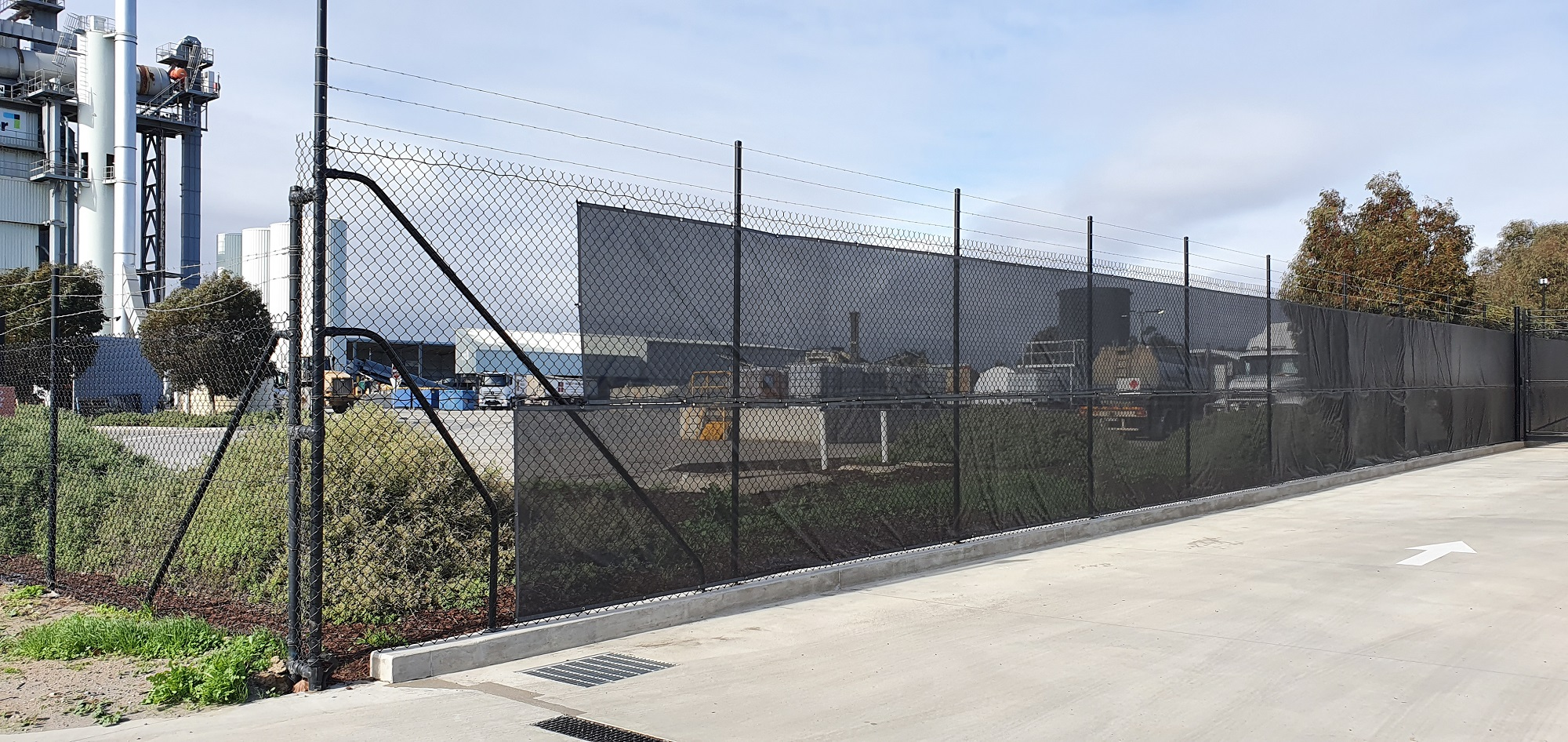 Commercial Fencing Adelaide Fence Centre Chain Mesh Security Fence Wingfield 3