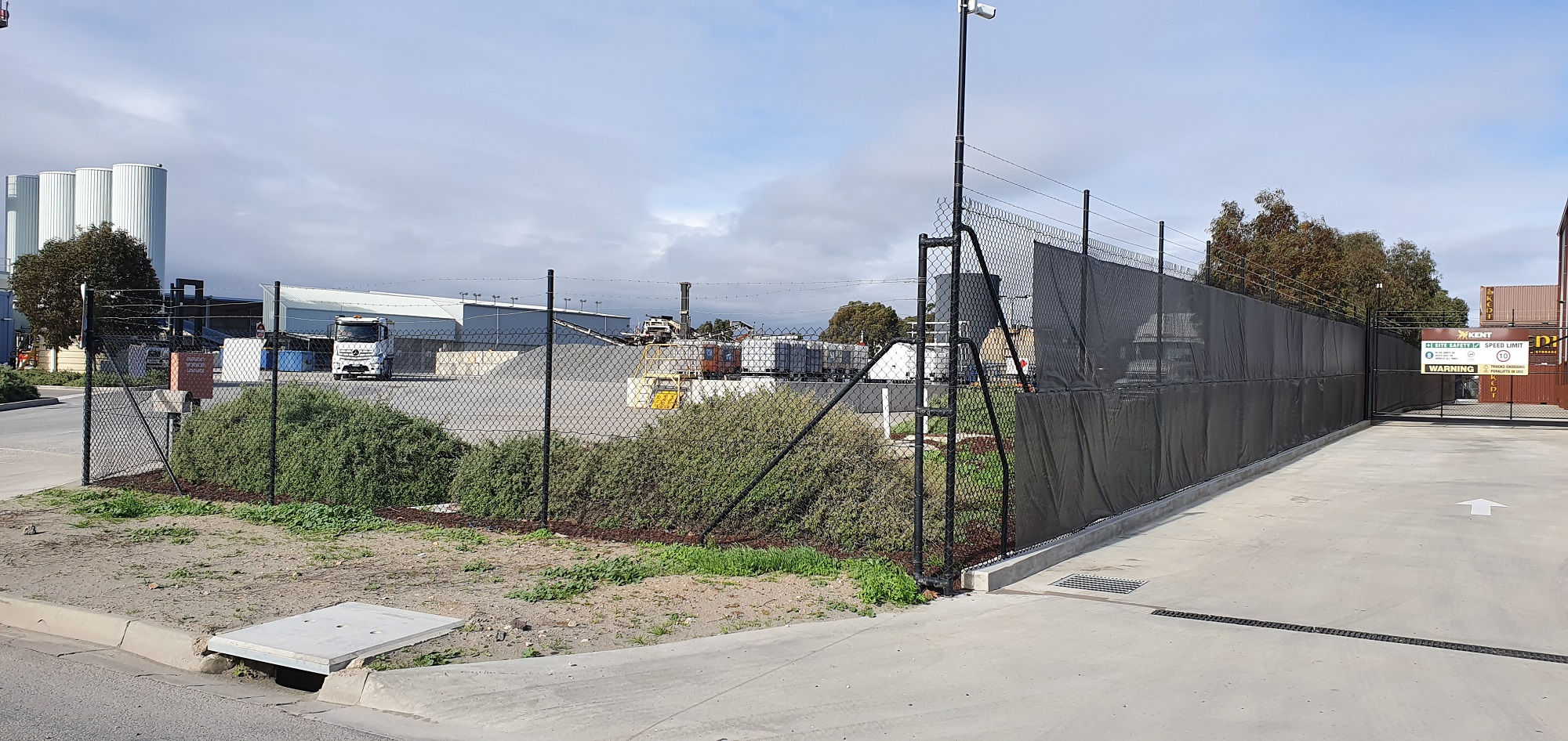 Commercial Fencing Adelaide Fence Centre Chain Mesh Security Fence Wingfield 4