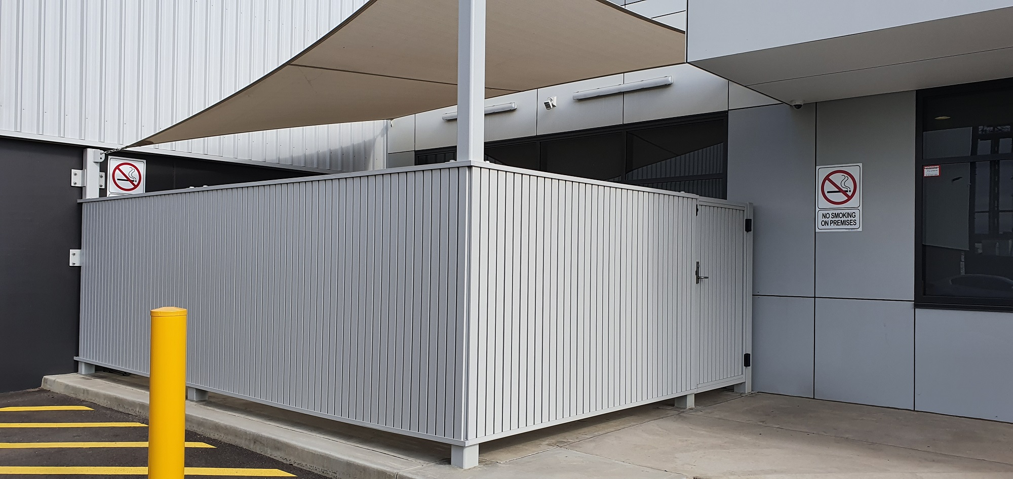 Commercial Fencing Adelaide Fence Centre Chain Mesh Security Fence Wingfield 5