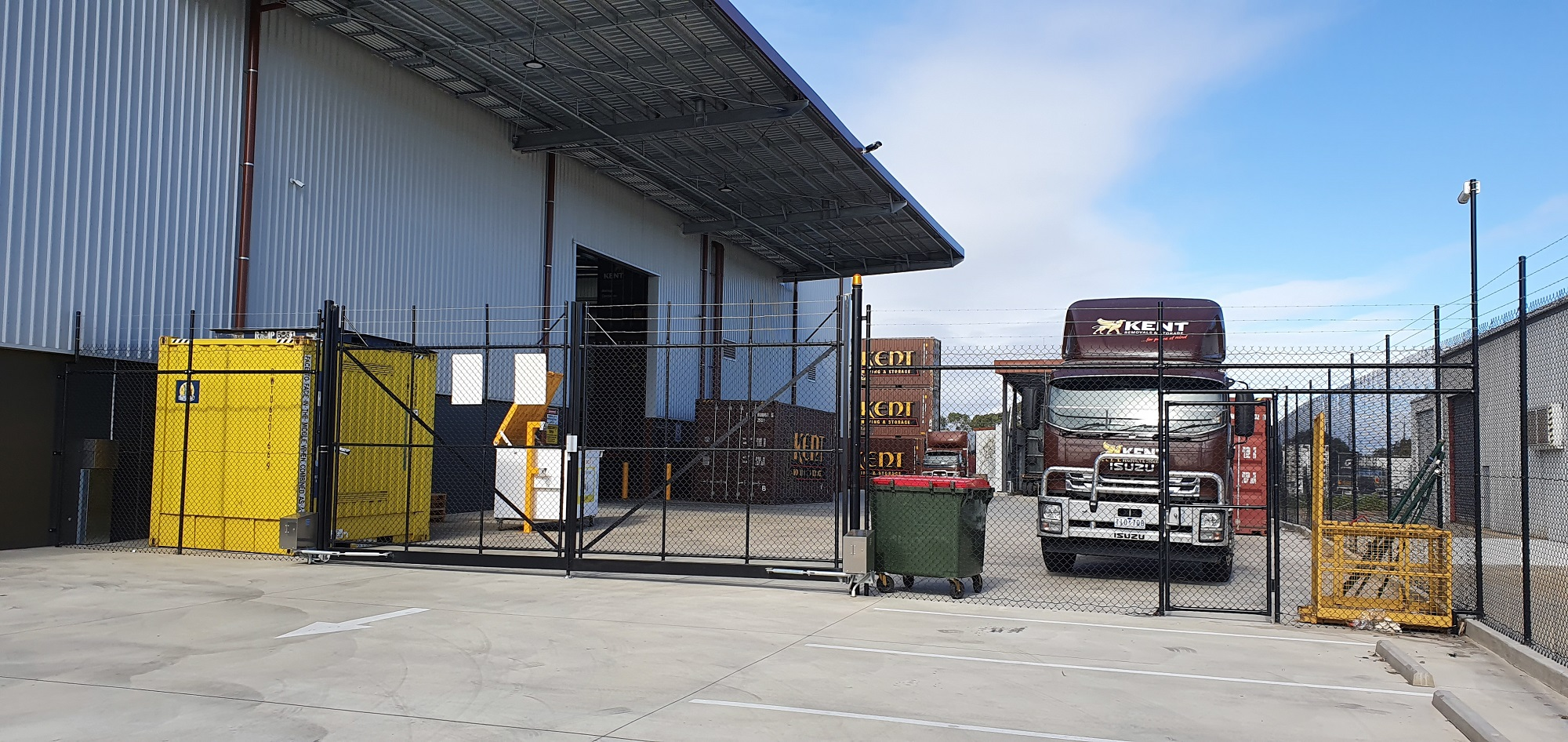 Commercial Fencing Adelaide Fence Centre Chain Mesh Security Fence Wingfield 6