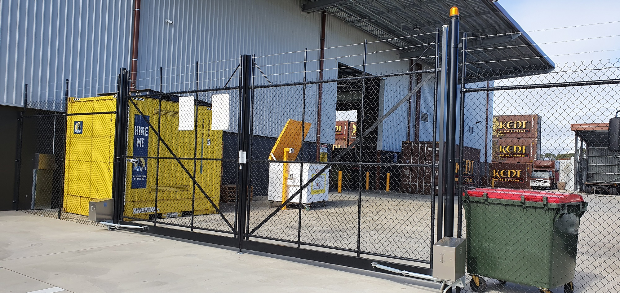 Commercial Fencing Adelaide Fence Centre Chain Mesh Security Fence Wingfield 7