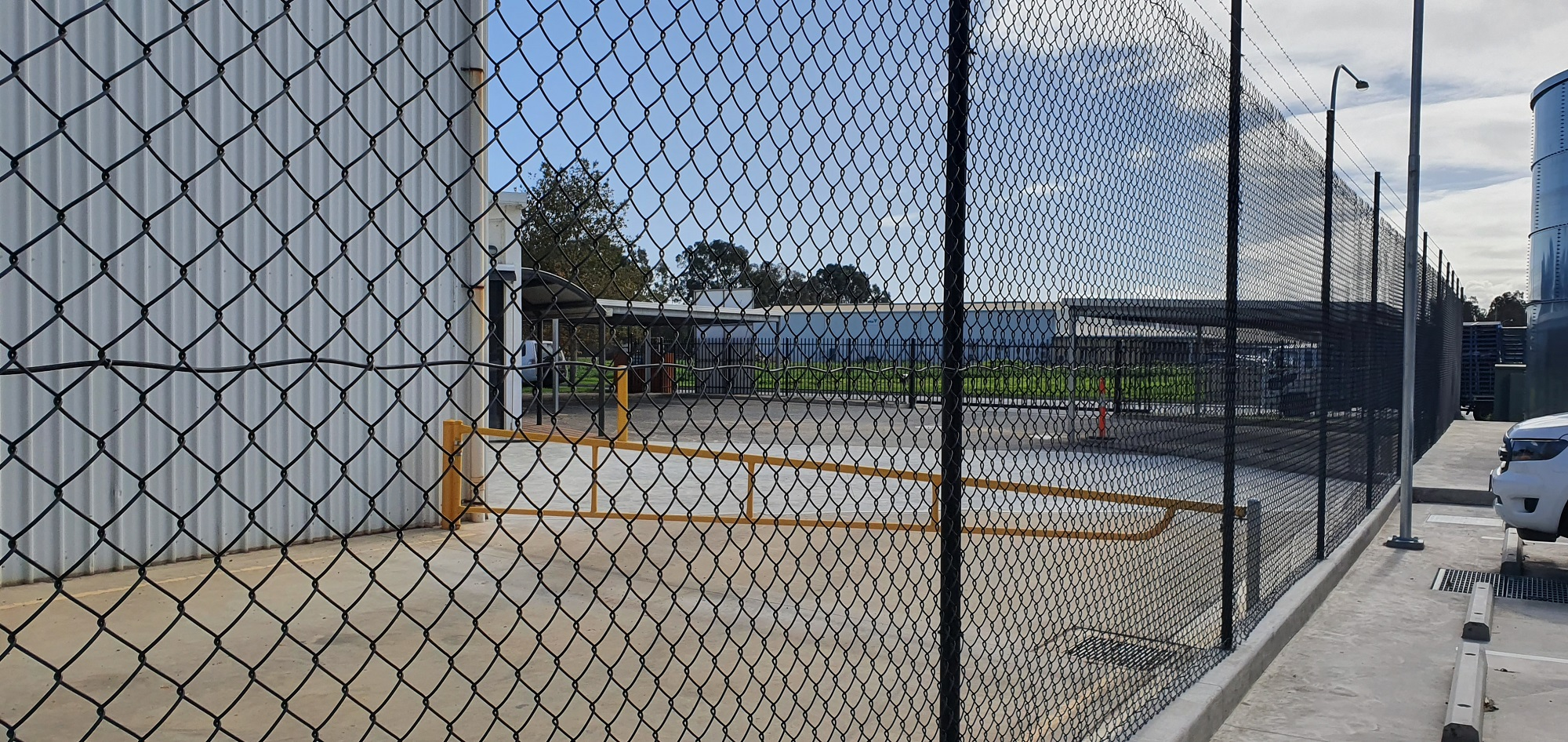 Commercial Fencing Adelaide Fence Centre Chain Mesh Security Fence Wingfield 8