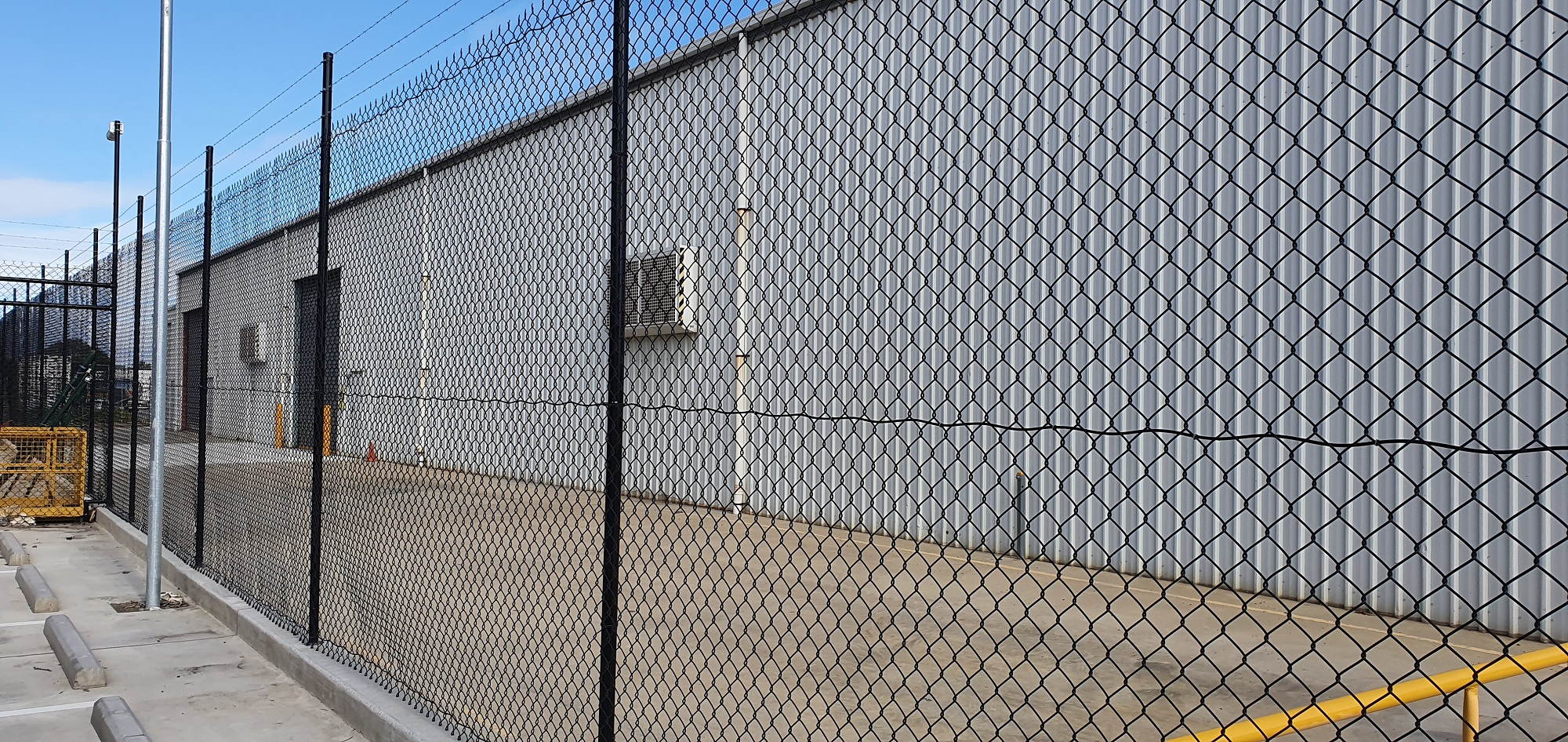 Commercial Fencing Adelaide Fence Centre Chain Mesh Security Fence Wingfield 9