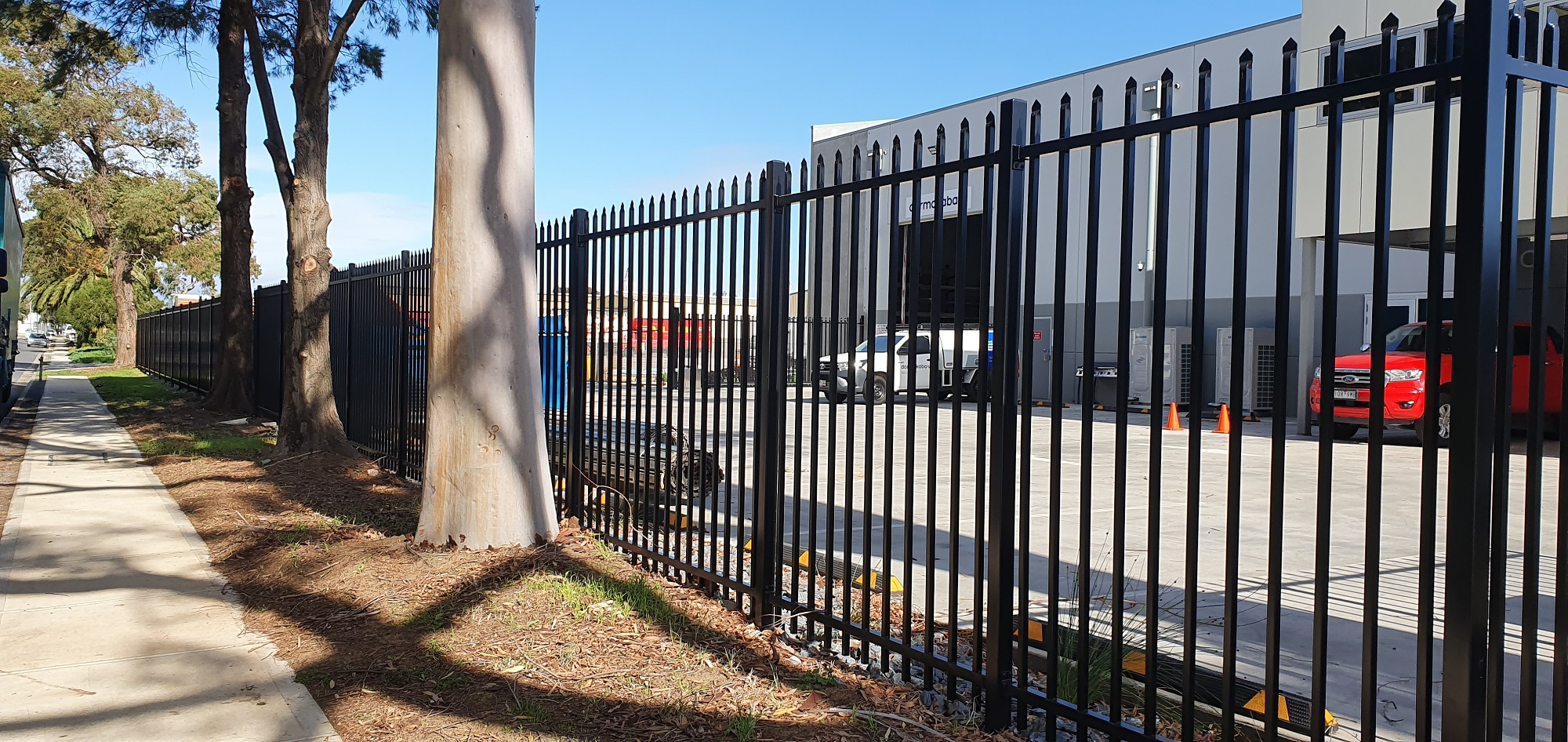 Commercial Fencing Adelaide Fence Centre Heavy Duty Security Fence Wingfield 1