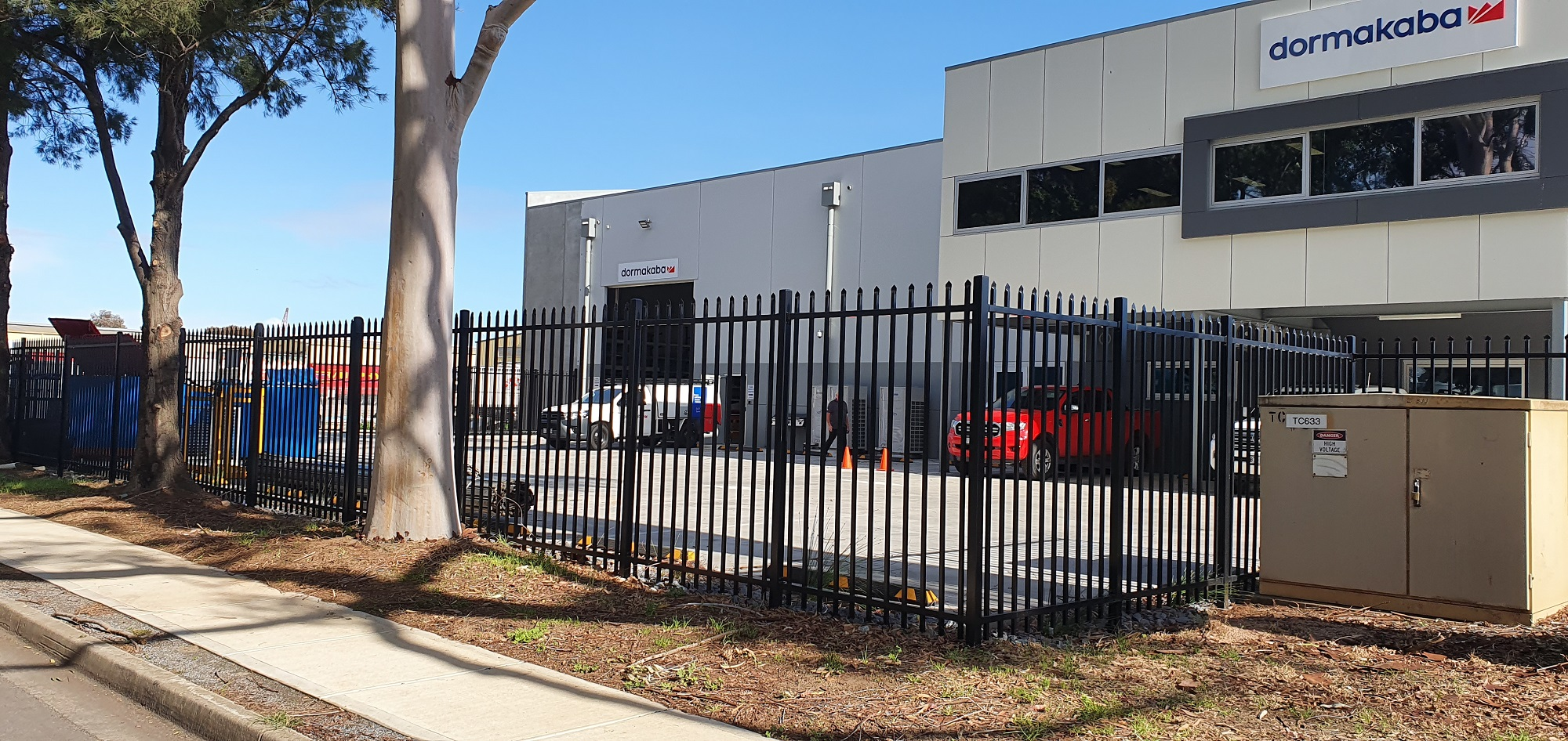 Commercial Fencing Adelaide Fence Centre Heavy Duty Security Fence Wingfield 2