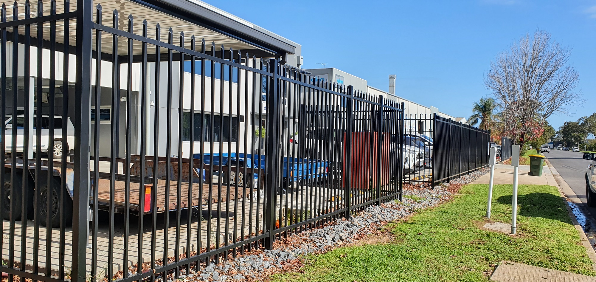 Commercial Fencing Adelaide Fence Centre Heavy Duty Security Fence Wingfield 3