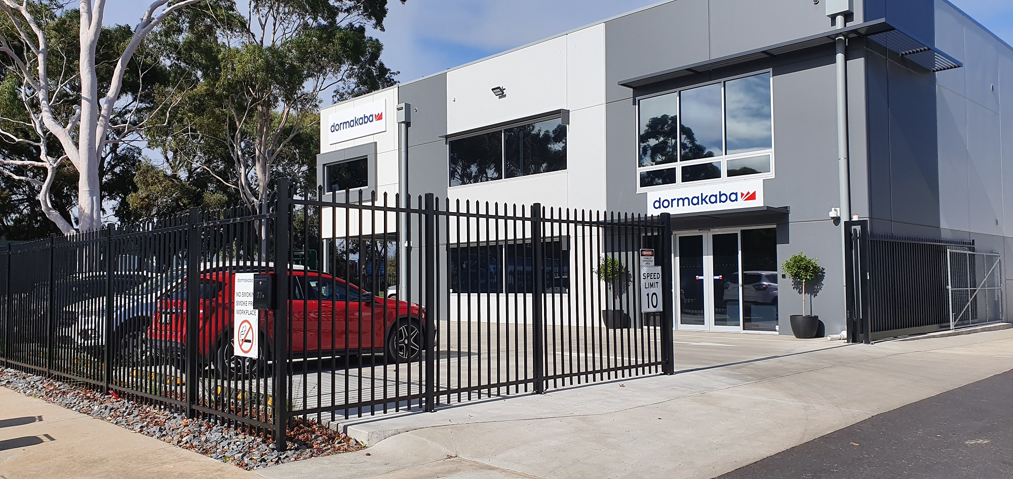 Commercial Fencing Adelaide Fence Centre Heavy Duty Security Fence Wingfield 5