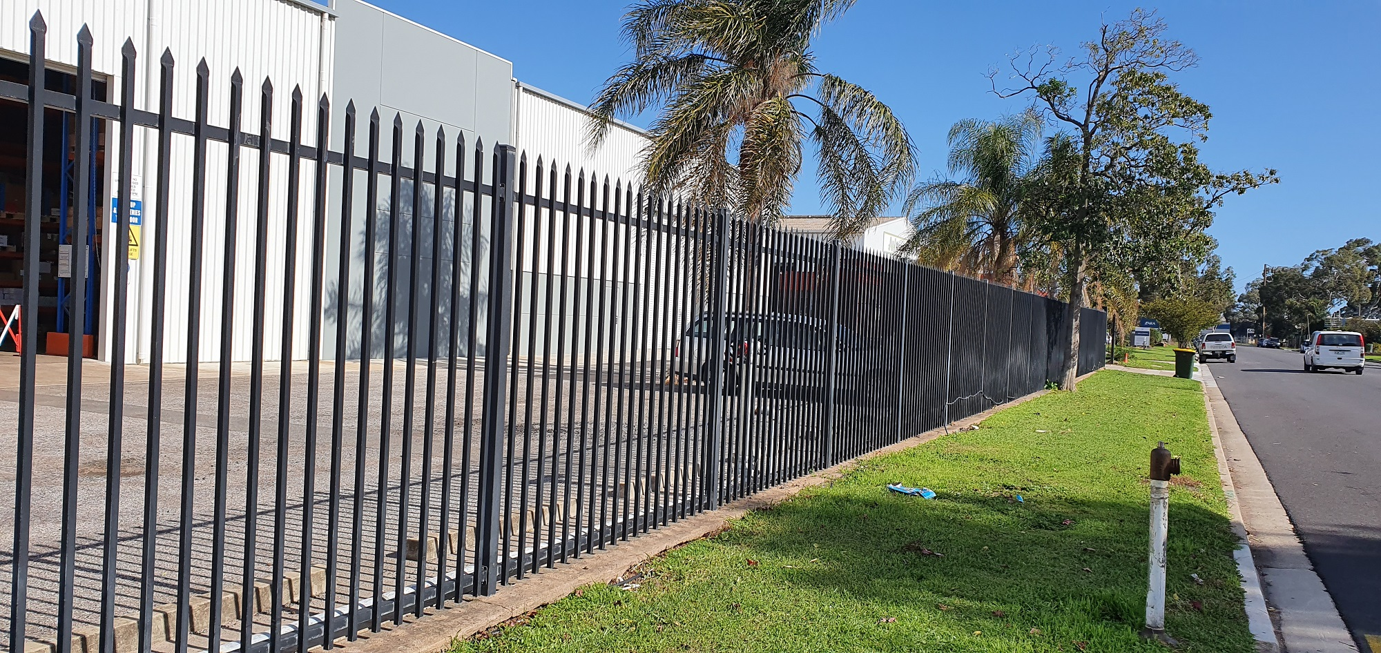 Commercial Fencing Adelaide Fence Centre Heavy Duty Security Fence Wingfield 8