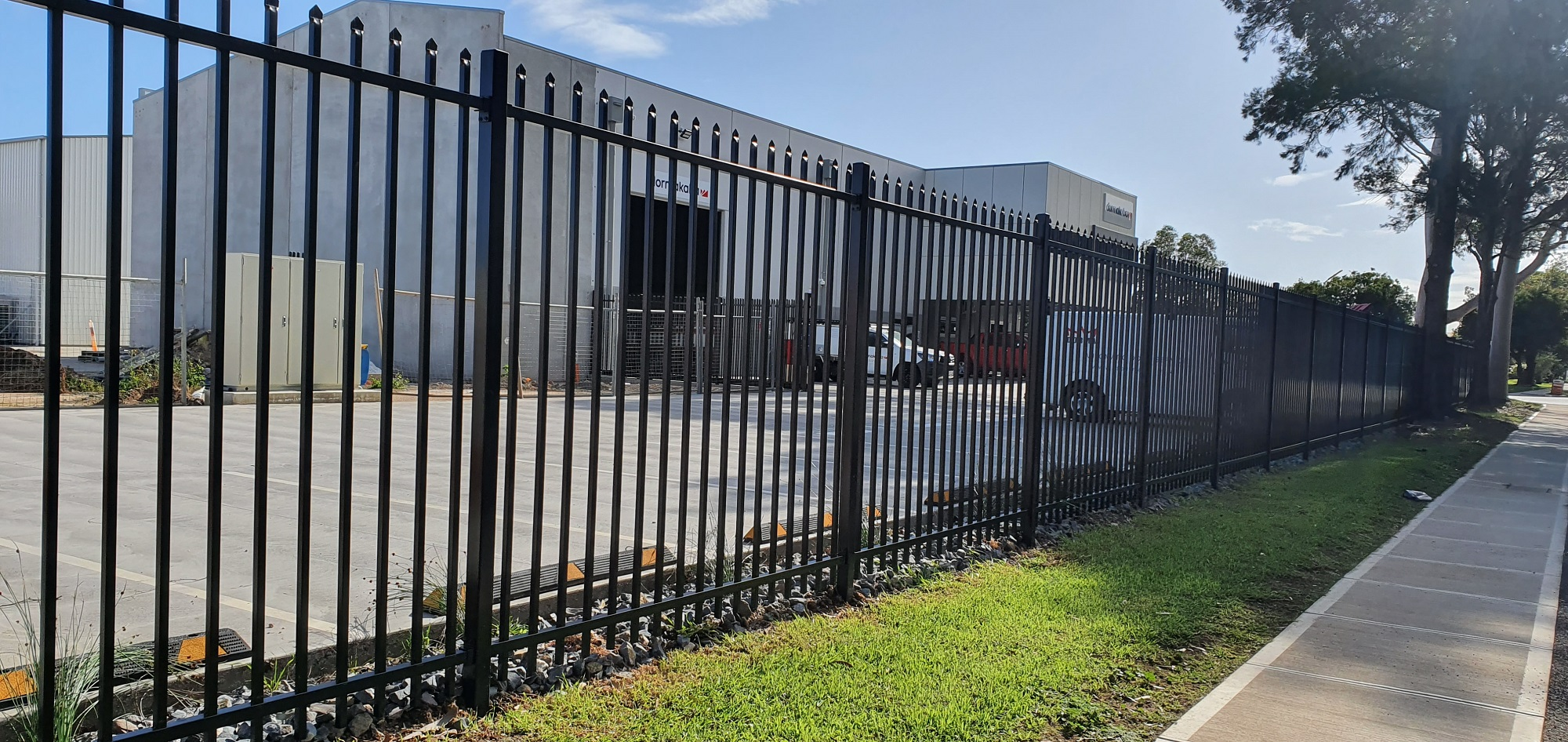 Commercial Fencing Adelaide Fence Centre Heavy Duty Security Fence Wingfield