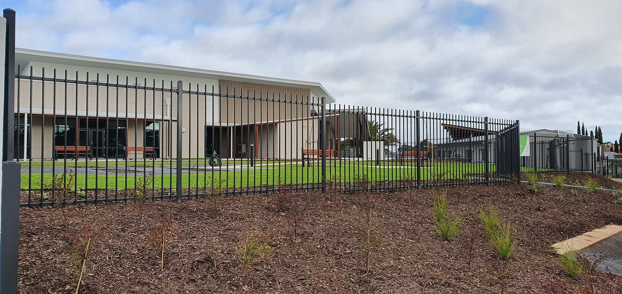 Commercial Fencing Adelaide Fence Centre Retirement Village Boundary Fencing 2