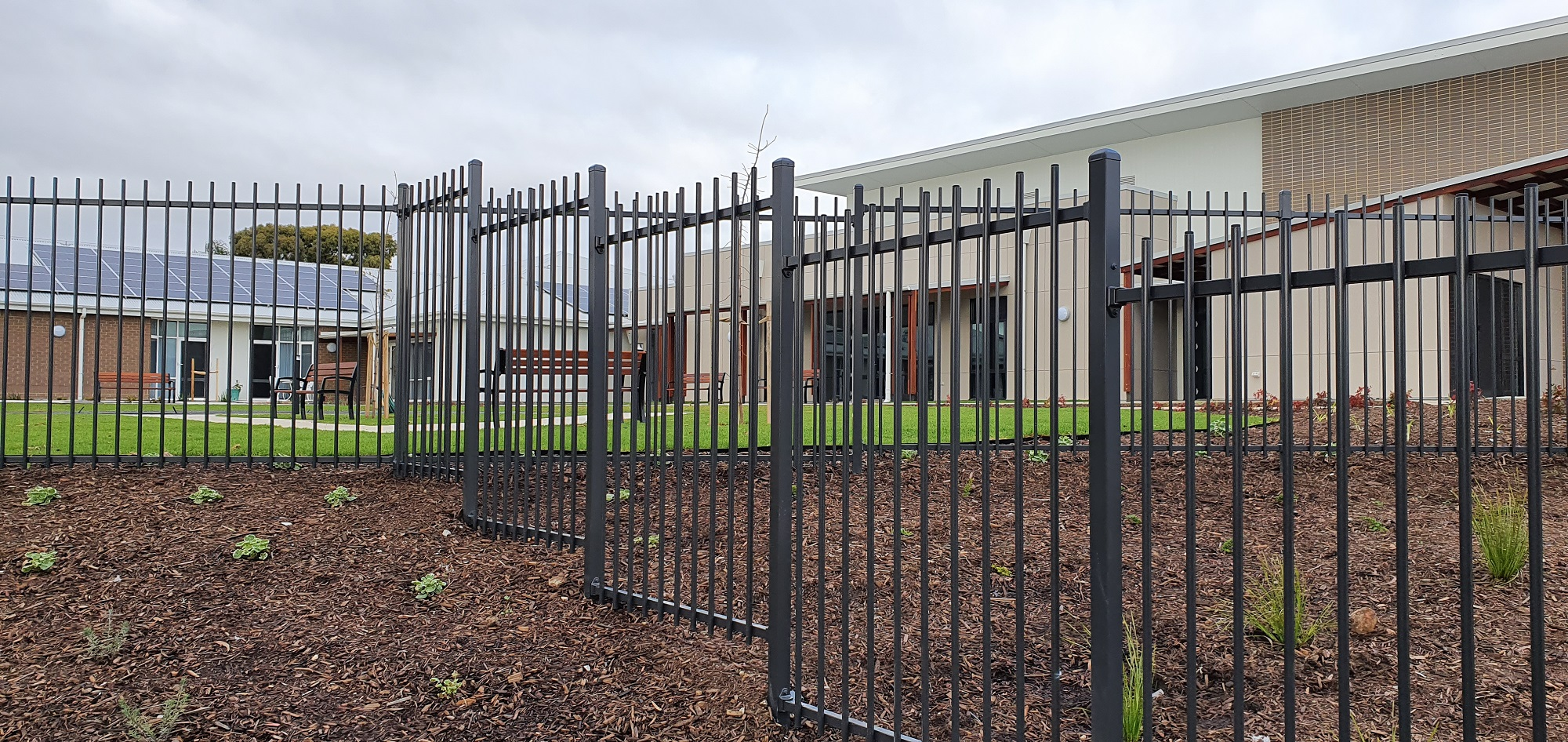 Commercial Fencing Adelaide Fence Centre Retirement Village Boundary Fencing 5