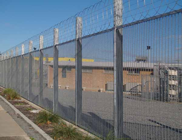 Weldmesh High Security Fencing