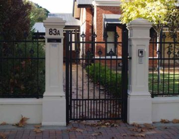 Pillar and tube Single Gate
