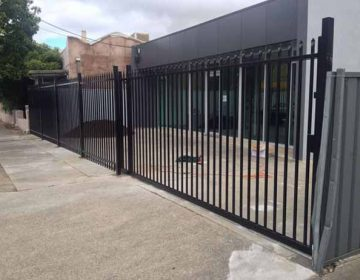 Tube security Fencing