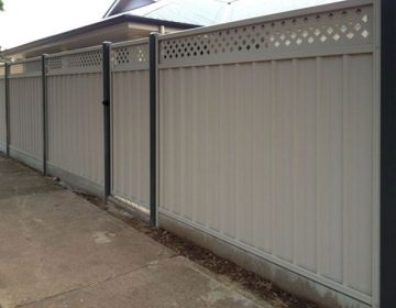 Sheet Fencing with Lattice