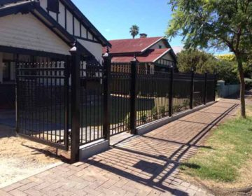 tube front fence