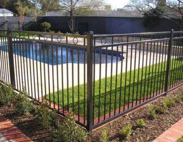 Tube Pool Fence