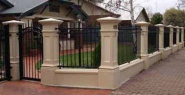 Fencing Service Columns and pillars