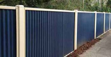 fencing service sheet fence