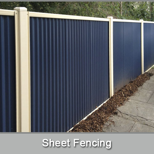 Sheet Fencing In Adelaide Adelaide Fence Centre
