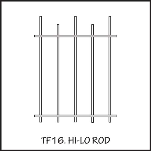TF16 Hi-lo Rod