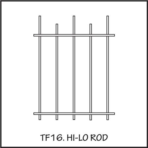TF16 Hi-lo Rod