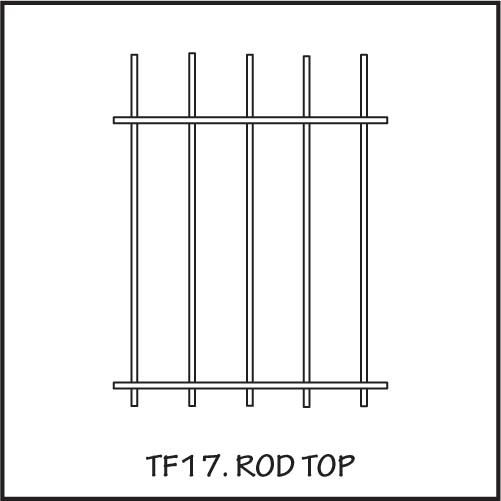 TF17 Rod Top