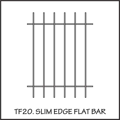 TF20 Slim Edge Flat Bar