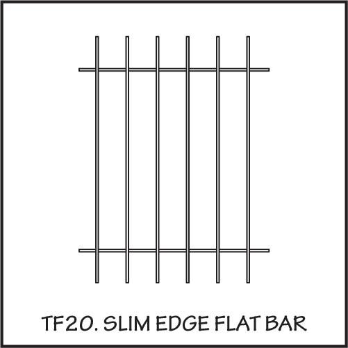 TF20 Slim Edge Flat Bar