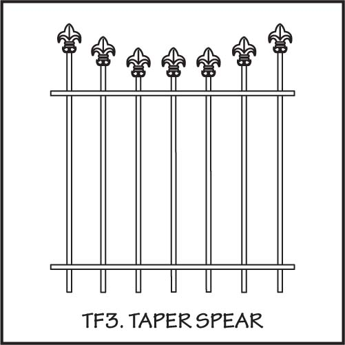 TF3 Taper Spear